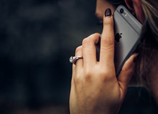 person on phone - scottish news