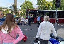 A man was hit by a bus at St Andrew's in the Square - Local News