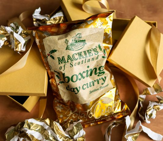 Food and drink PR photography, Scottish snack brand provide an early taste of Boxing Day