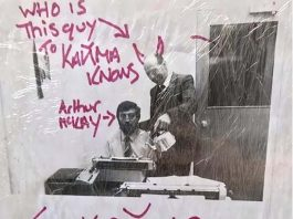 A creepy note - UK News