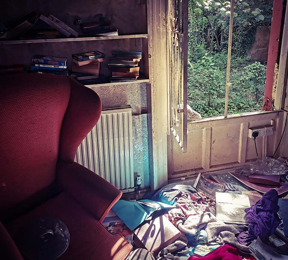 The creepy abandoned room - UK News