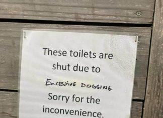 Excessive dogging sign - Scottish News