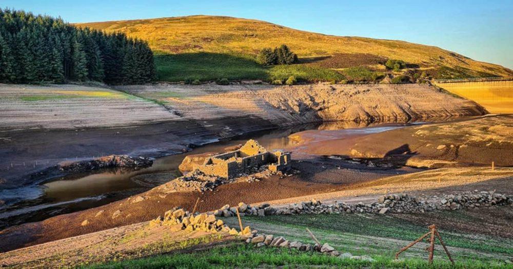 Upper Glendevon Reservoir sunset - Scottish News