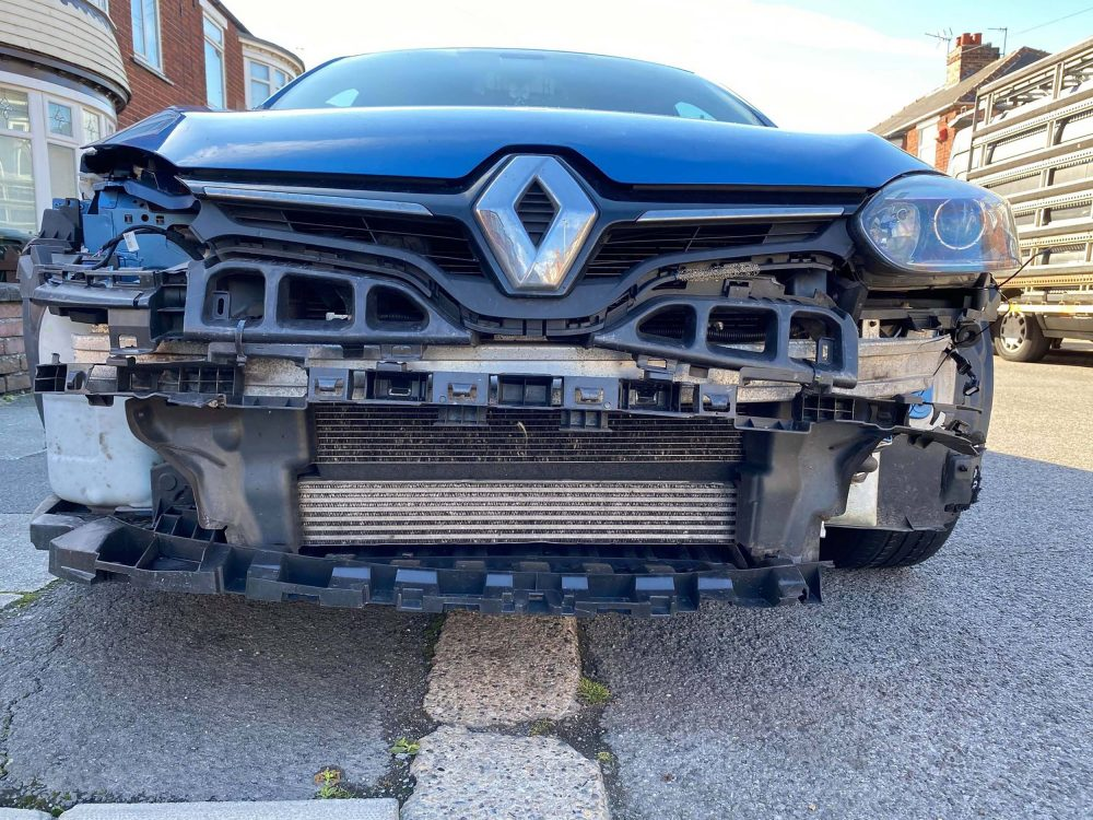 The car was a write off - UK Crime News