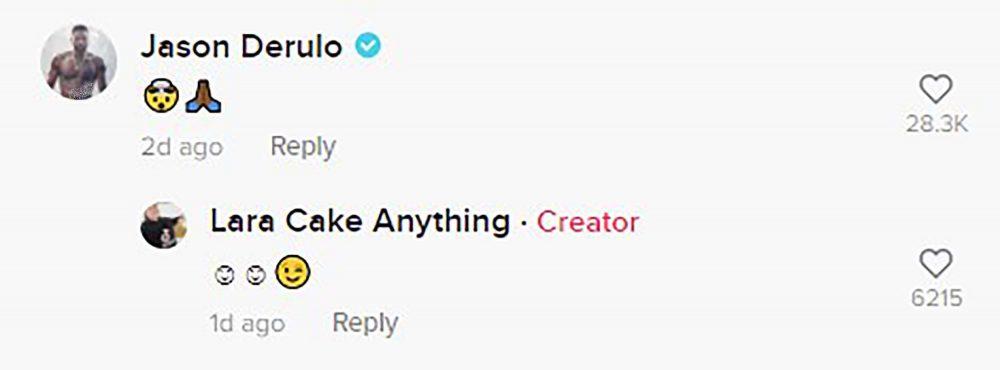 TikTok Comment-Celebrity News