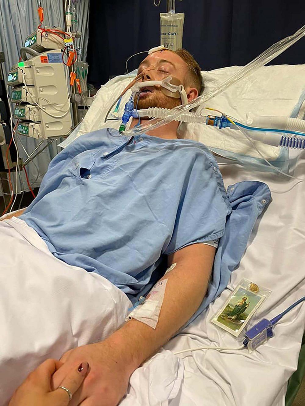Danny in hospital - UK News
