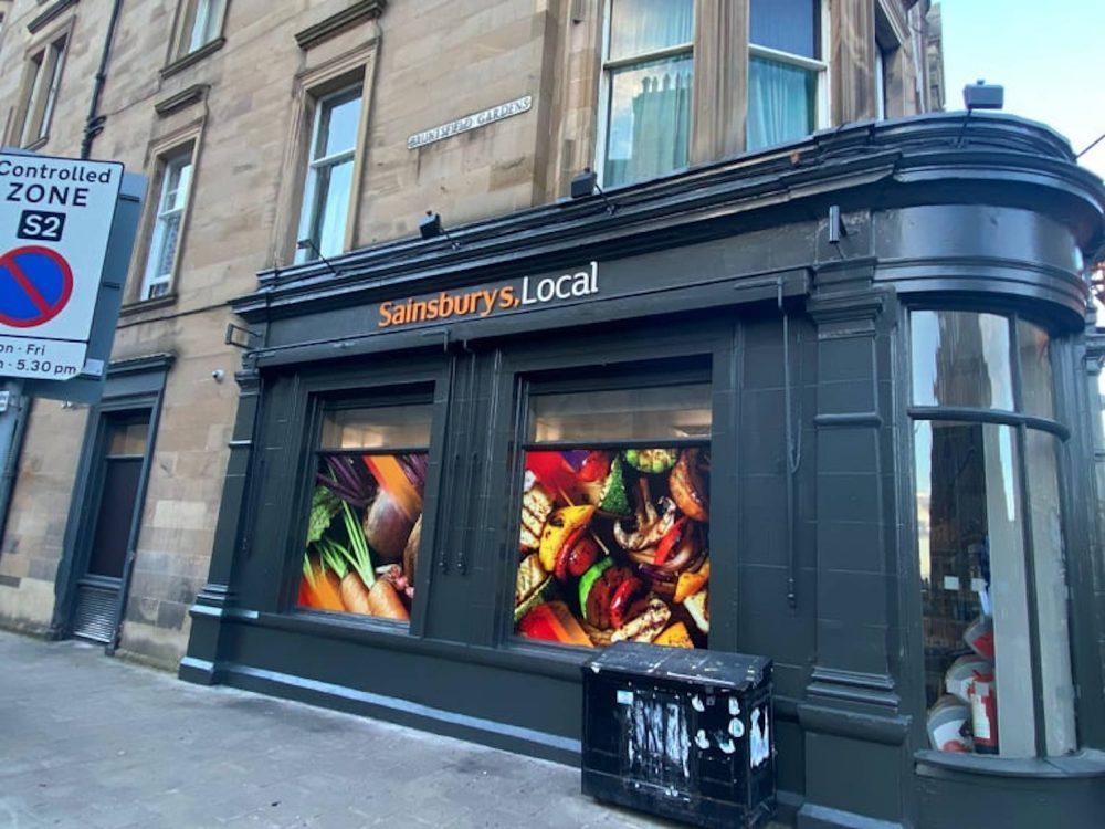 The Sainsbury's store in Bruntsfield - Scottish News