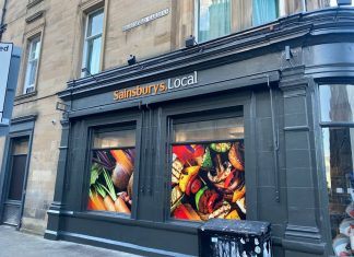 Sainsbury's store with the incorrect sign - Scottish News