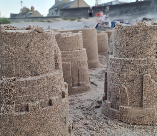 some of the 805 tribute sandcastles   Scottish Health News