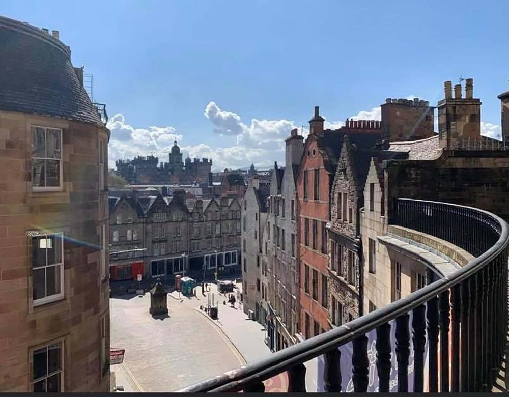 Maxies Bistro view - Food and Drink News Scotland