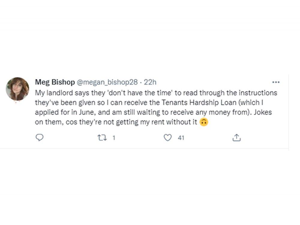 Megan's tweet - Property News Scotland