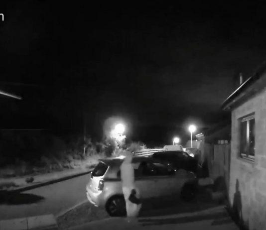 Vandal searching car park Forfar - Crime News UK