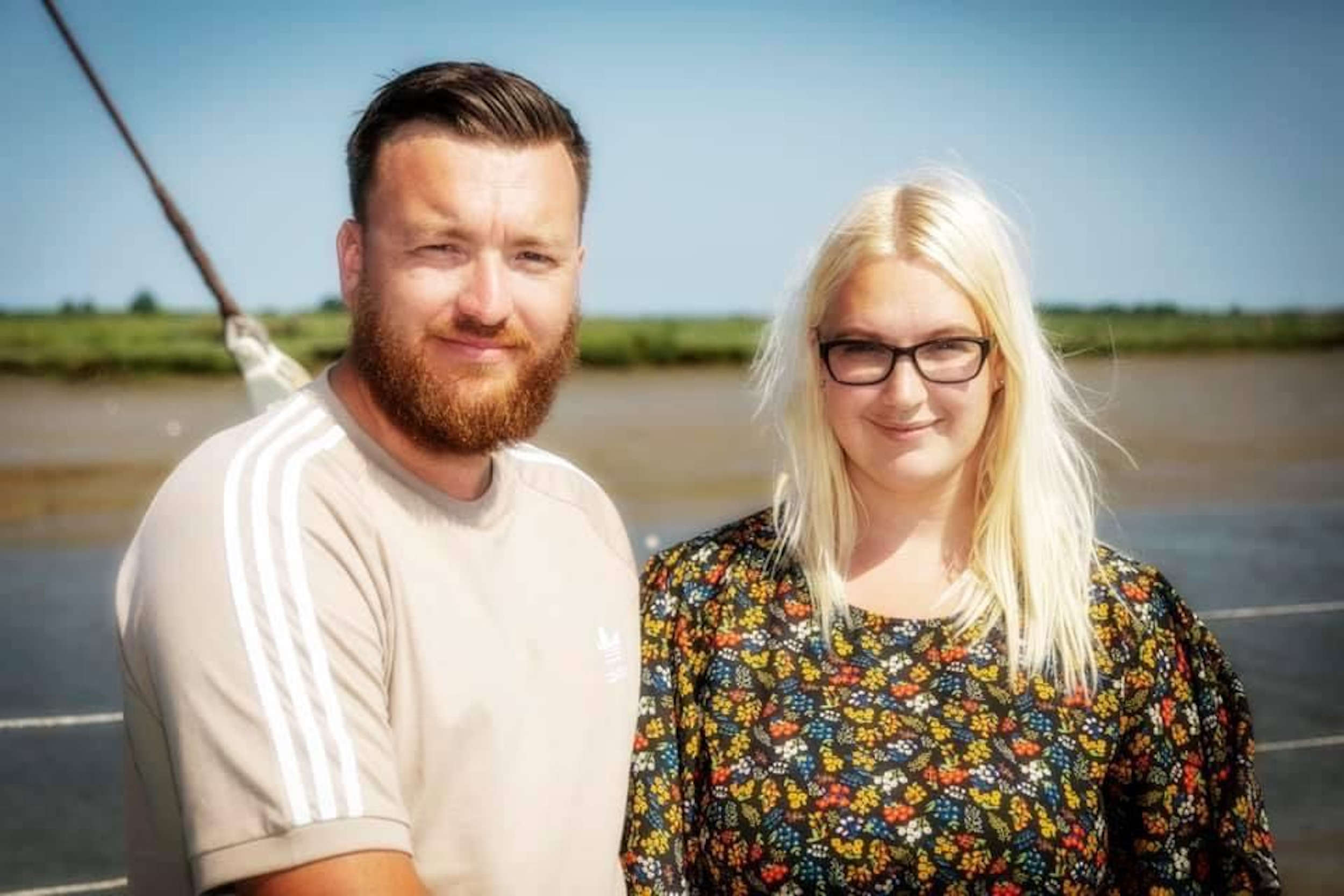 Adrian, the window cleaner and his wife Jodie - UK News