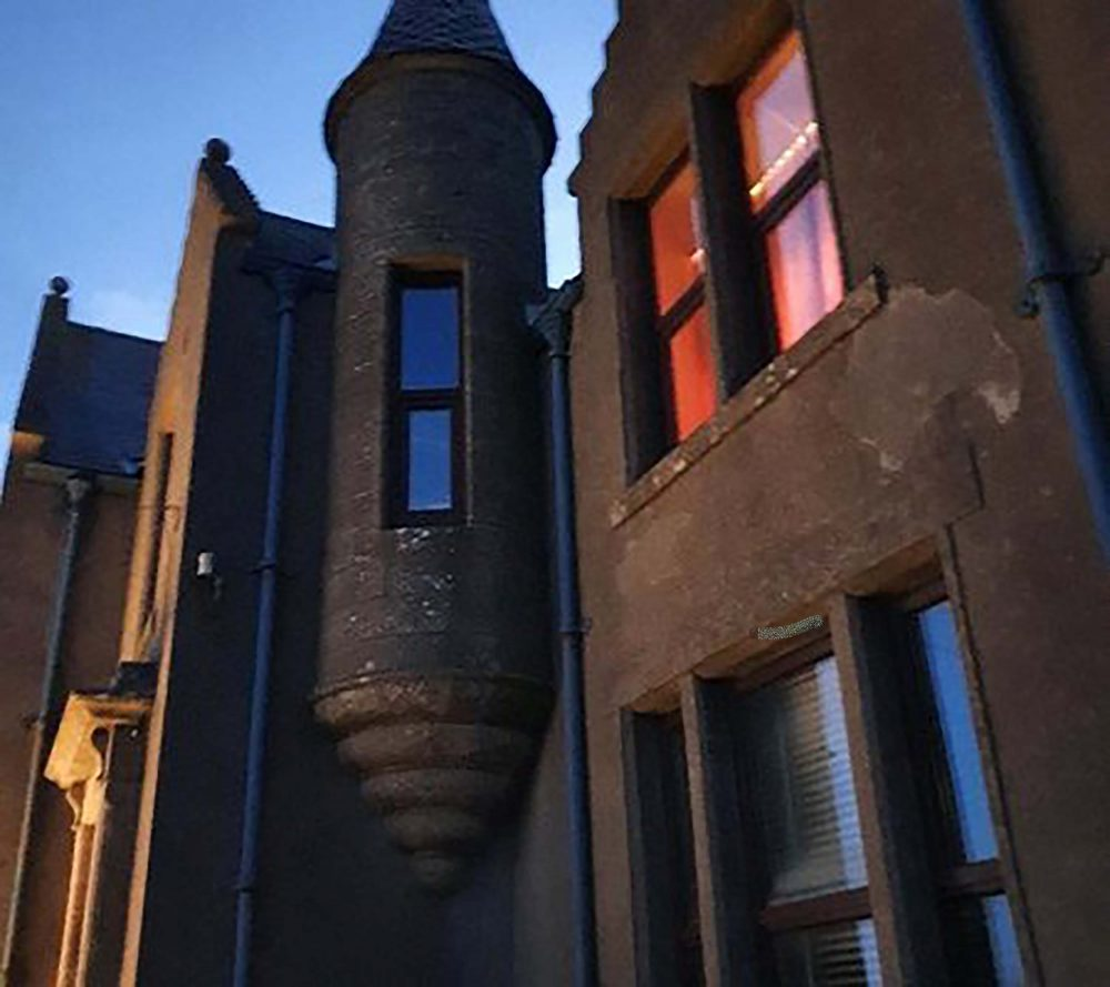 The property in twilight - Scottish Property News