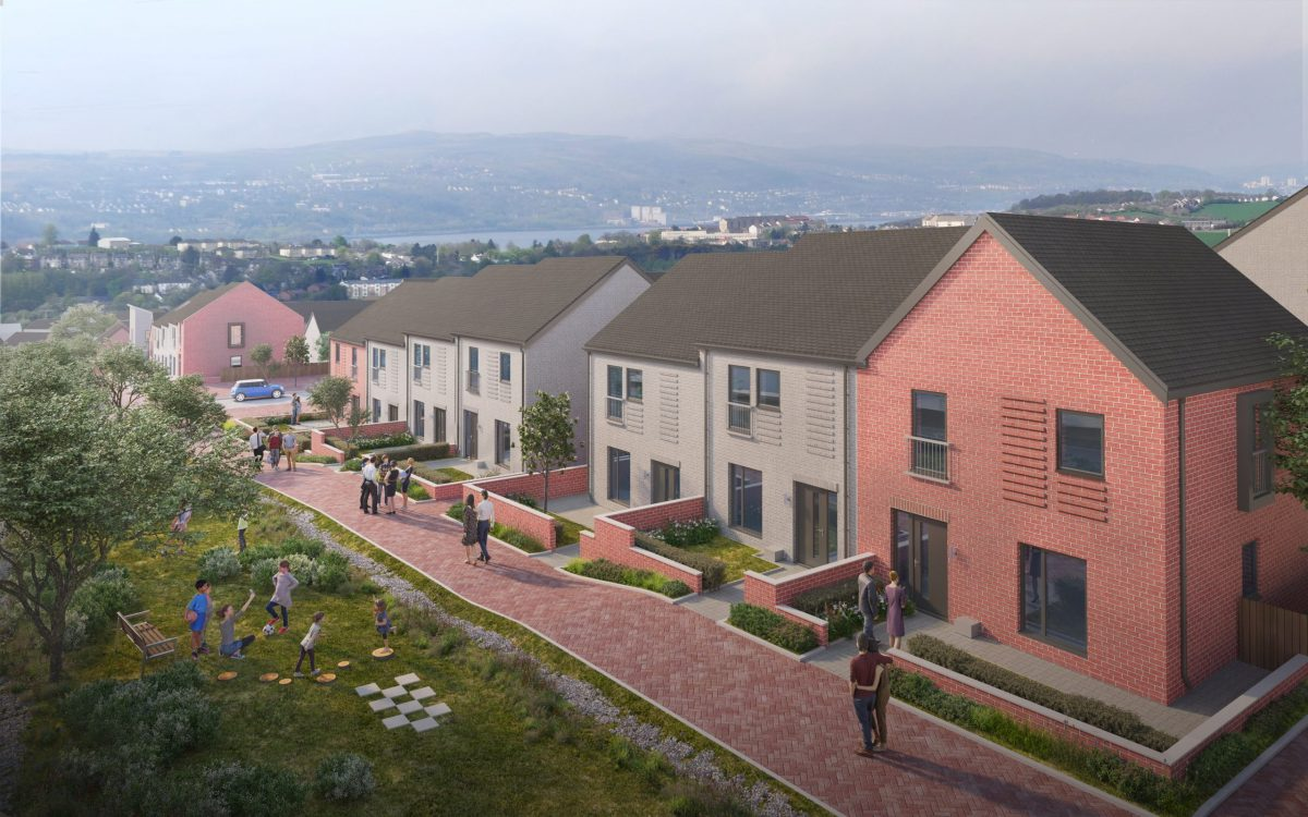 Proposed Bellsmyre housing project