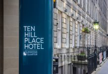 Hospitality PR, 31 MAY Ten Hill Place Exterior