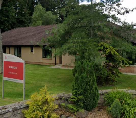 Manor Care Centre in Nairn, where carer Christine Grant was struck off.