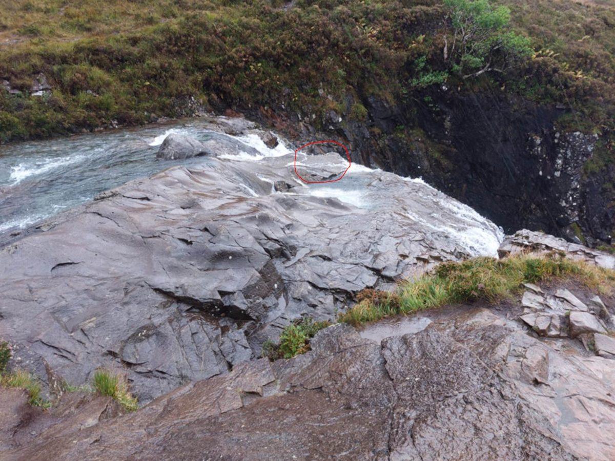 Fairy Pools rocks