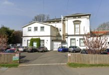 Residential care home Castel Froma in Leamington Spad, where nurse Barbara Moore stole morphine.