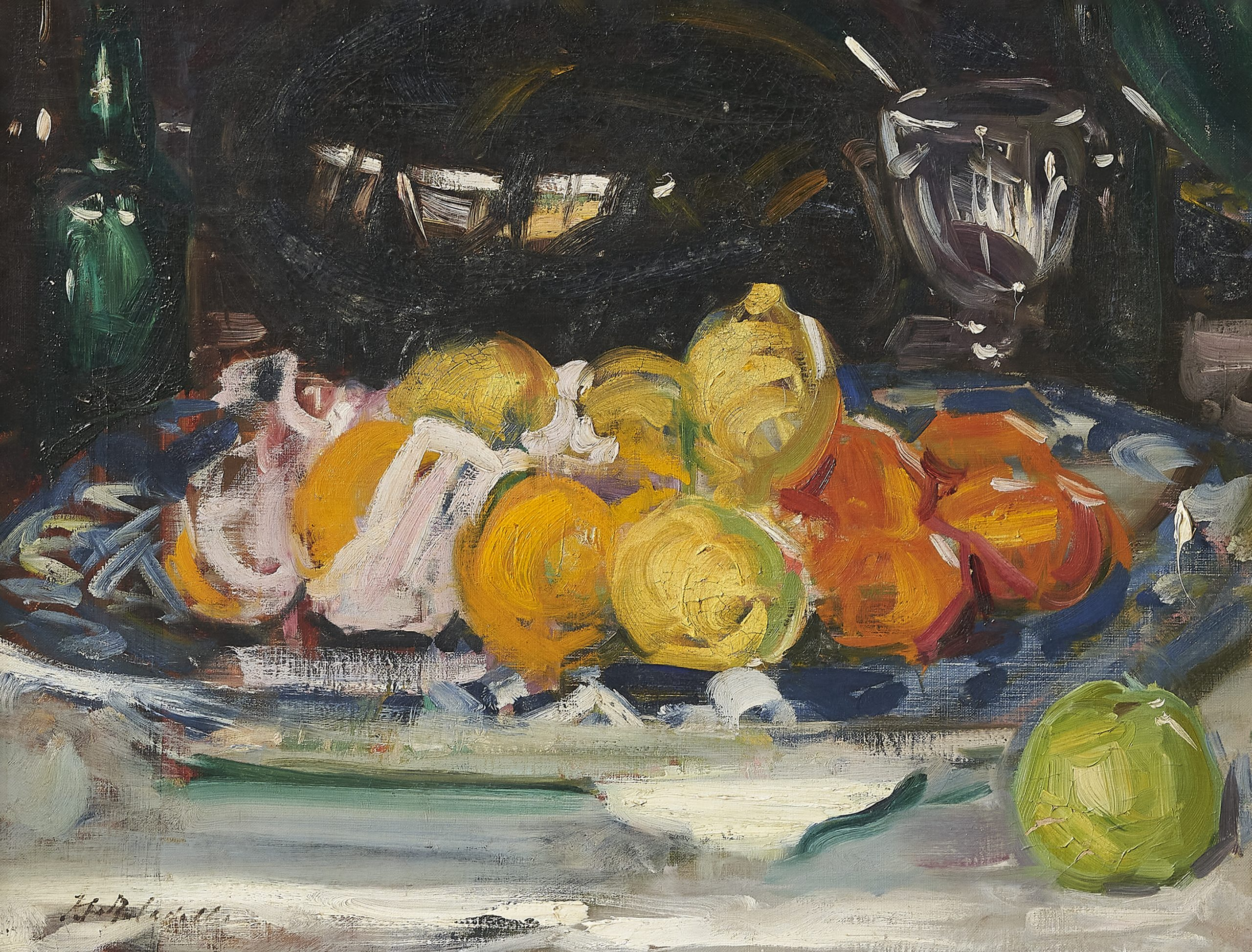 Cadell's Still Life with Oranges, Lemons and an Apple - Scottish News